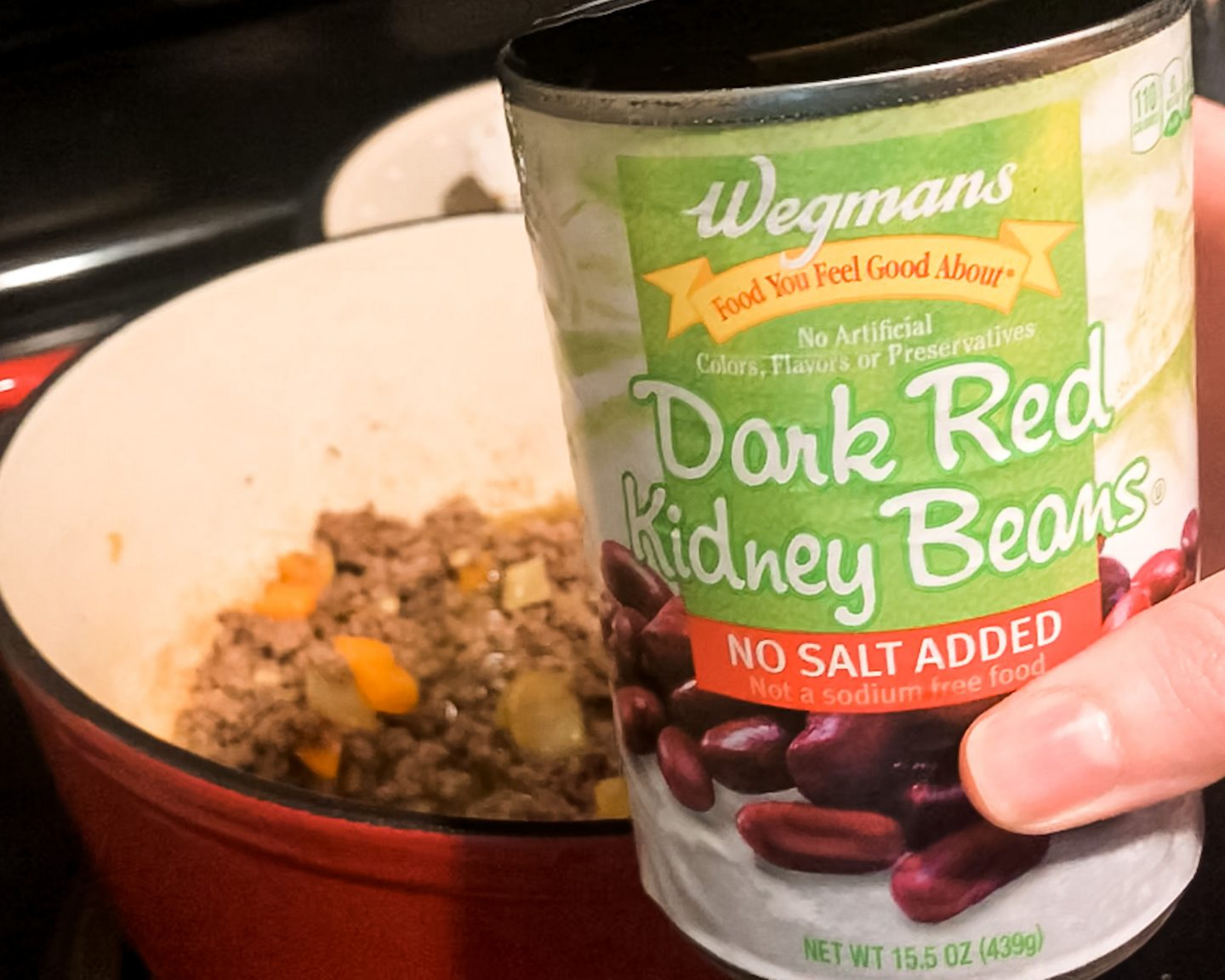 Red Kidney Beans for Cheesy Hamburger Soup