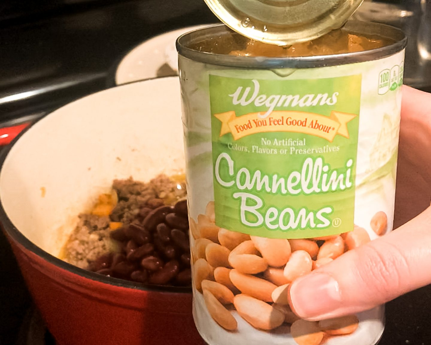 Cannellini Beans for Cheesy Hamburger Soup