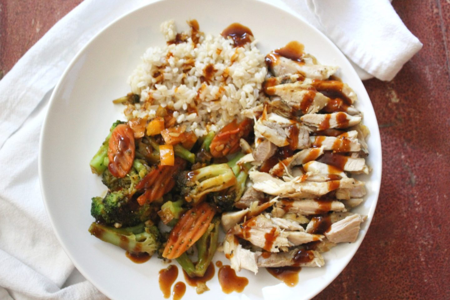 General Tso Chicken Rice Bowls