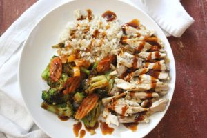Easy General Tso Chicken Rice Bowls Recipe by M&Bee Blog