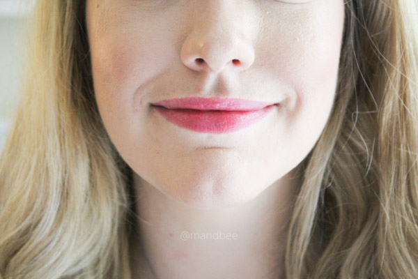Revlon Super Lustrous Glass Shine Lipstick Review Love is On Swatch