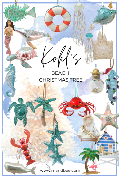 Kohl's Beach Christmas Tree