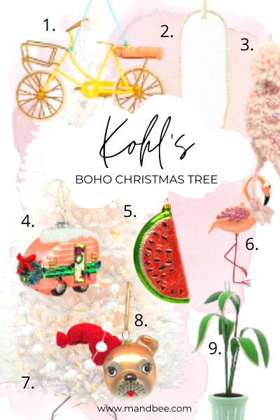 Kohl's Boho Christmas Tree Inspiration