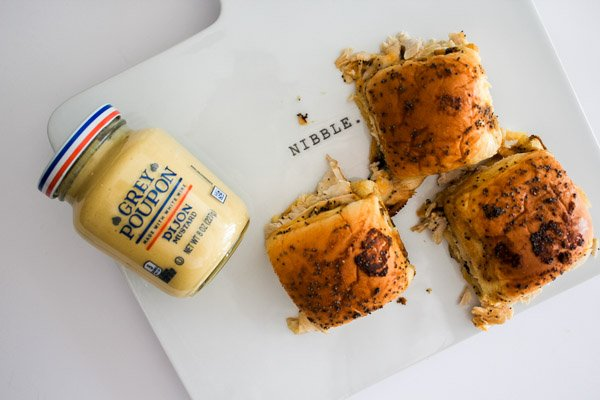 Grey Poupon Turkey Rolls