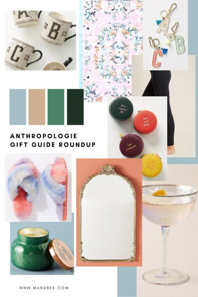 Anthropologie gift guide 2020