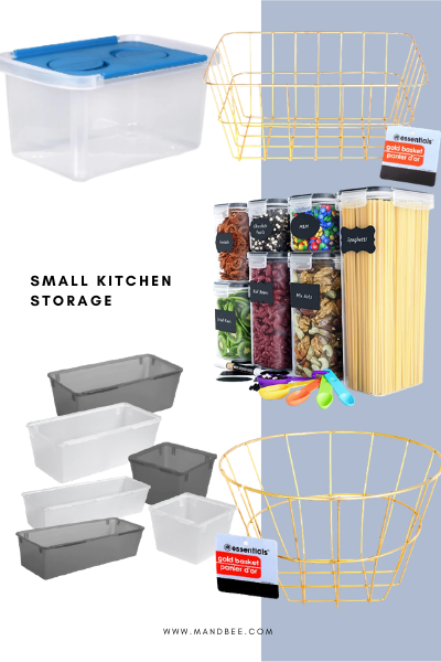 Small Space Storage for Kitchen