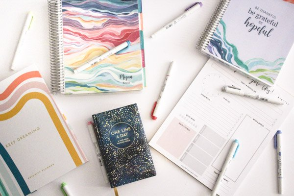 Planners and Journals That Help Me Stay Organized
