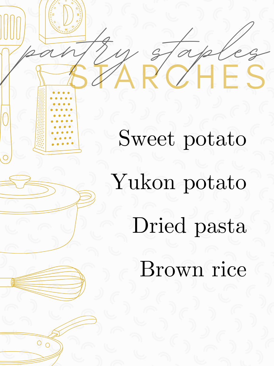 Most Used Pantry Staples